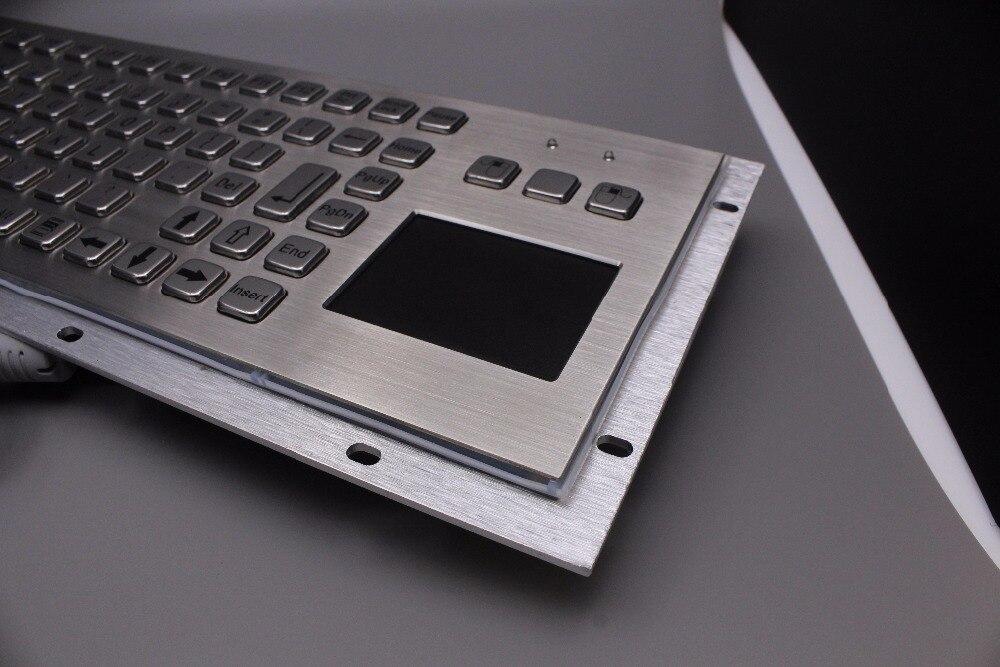 IP65 Robuust Kiosk Metalen Industrieel Toetsenbord met Touchpad - Computerrandapparatuur - Foto 4