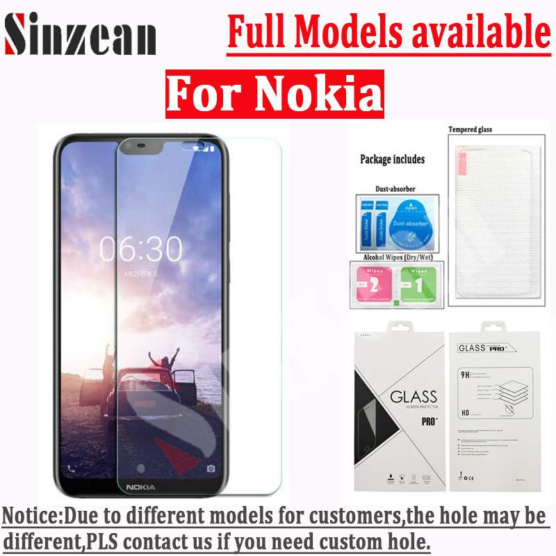 200pcs For Nokia X3 X5 X6 X7 2 3 5 6 7 8 2 5D clear