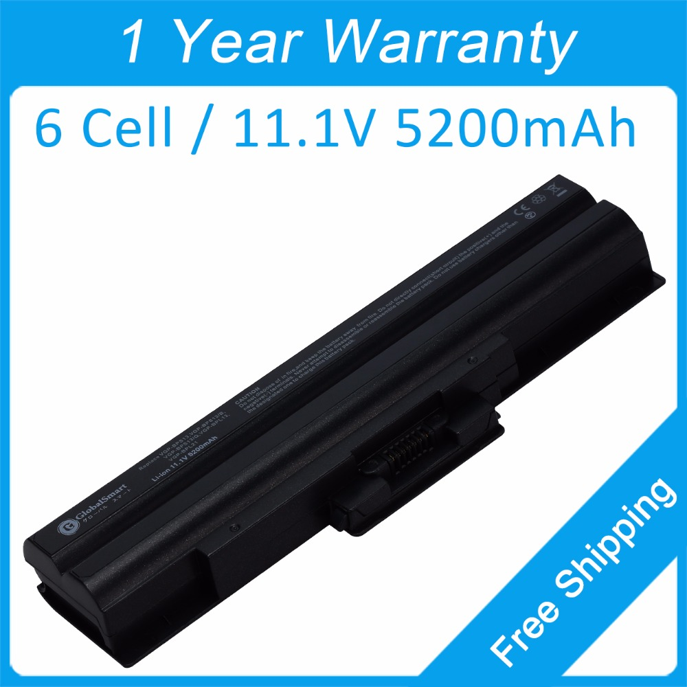 New 6 cell laptop battery VGP-BPS13/Q VGP-BPS13A/S VGP-BPS21B for SONY VGN-CS11Z/R VGN-CS16T/P VGN-CS190JTP VGN-CS21S/P VGN-CS28