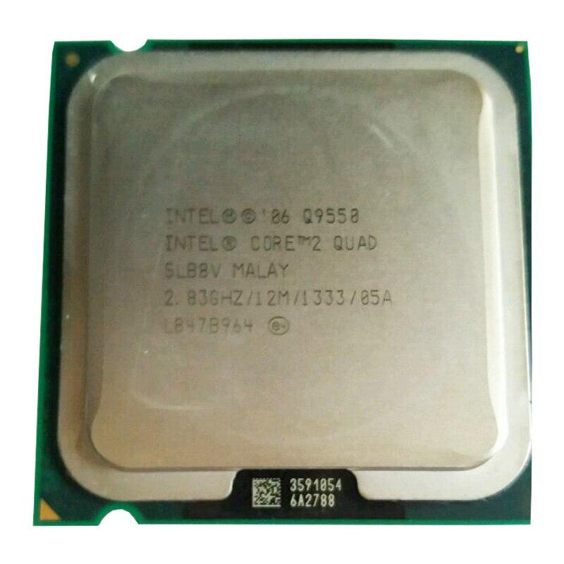 Procesor czterordzeniowy INTEL core2 q9550 procesor Q9550 Core2 (pamięć podręczna 2.83 GHz/12 MB/FSB 1333) nadal ma sprzedaż procesora Intel Q9650 LGA775