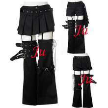 Gothic Tripp Punk Fashion Skirt Pants Trousers Cosplay Costume