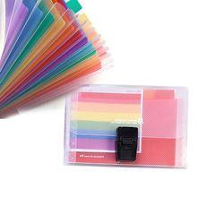 Доступная 13 карманная папка офисная расширяющаяся файл красочный органайзер для документов