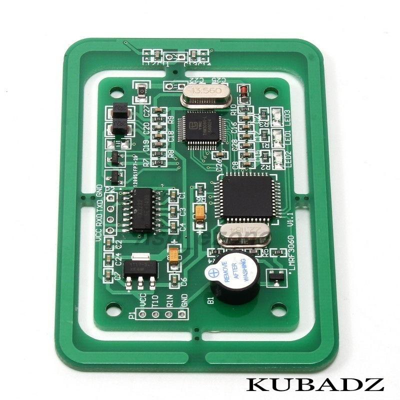 LMRF3060 5V RFID Multi-Protocol Reader Writer Module Developing Board UART/TTL