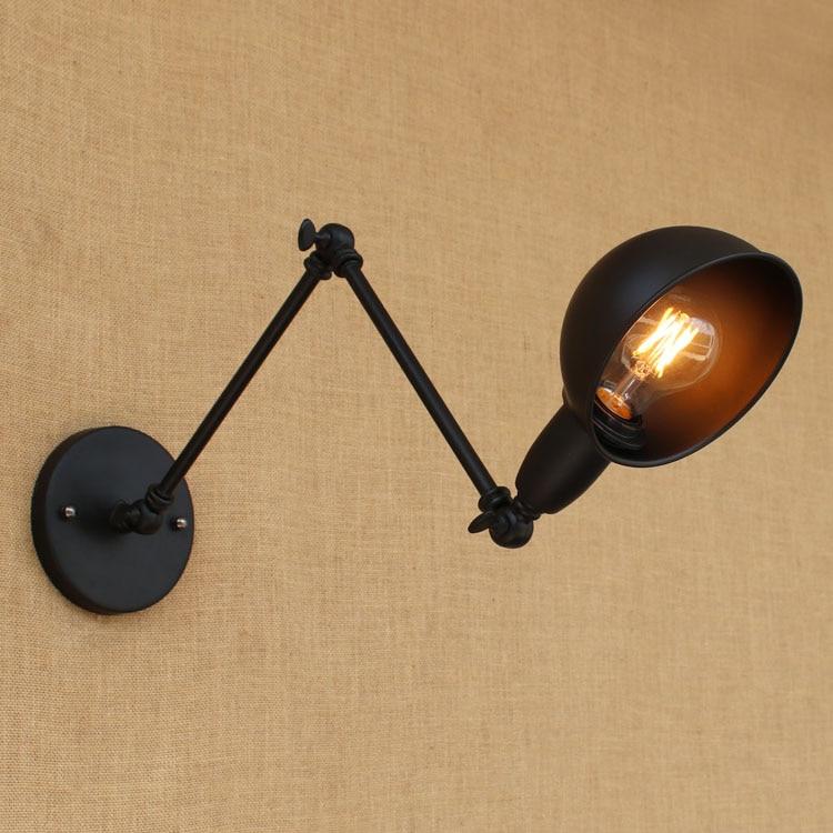 Schwarz Edison Retro Vintage Wandleuchte Für Zuhause Esszimmer - Innenbeleuchtung - Foto 2