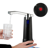Electric Water Bottle Pump Dispenser Faucet Rechargeable Drinking Purified Water Bottles Suction Unit Dispenser Kitchen Tools