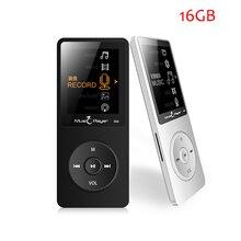 Nuevo Original Pantalla IQQ X02 16G MP3 Del Altavoz Del Jugador de 1.8 Pulgadas Juego de 80 horas, grabadora de voz, FM, E-libro, Reloj, Reproductor Multimedia MP3 Música