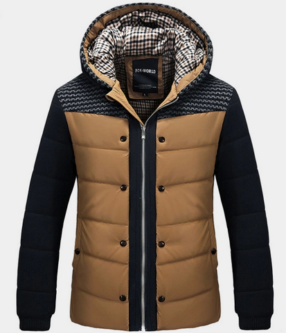 Men's warm jackets for winter – Modern fashion jacket photo blog