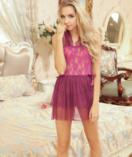 Sex products Sexy Nightgowns Satin Silk Nighties Women Sexy Lingerie Lace Sleepwear Sexy Babydoll Sleepwear +t Pants Set