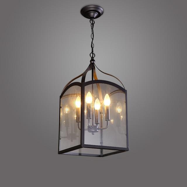 Modernes Pour Ac Simples 90 Led Lampes Lustres Industriel E14 Lustre Américain Rétro 260v Yfyvbg76Im