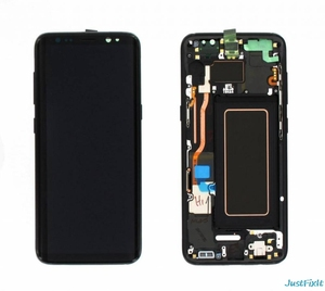 Image 1 - For Samsung Galaxy S8 S8 PLUS G950 g955 g950f g955f Burn in Shadow lcd display with touch screen Digitizer Original Super AMOLED