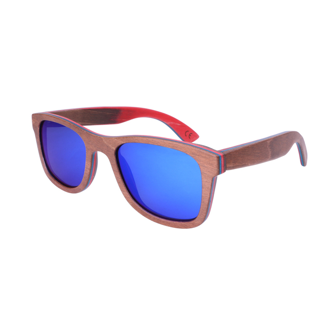 new arrival skateboard wood sunglasses Bamboo Wood Sunglasses