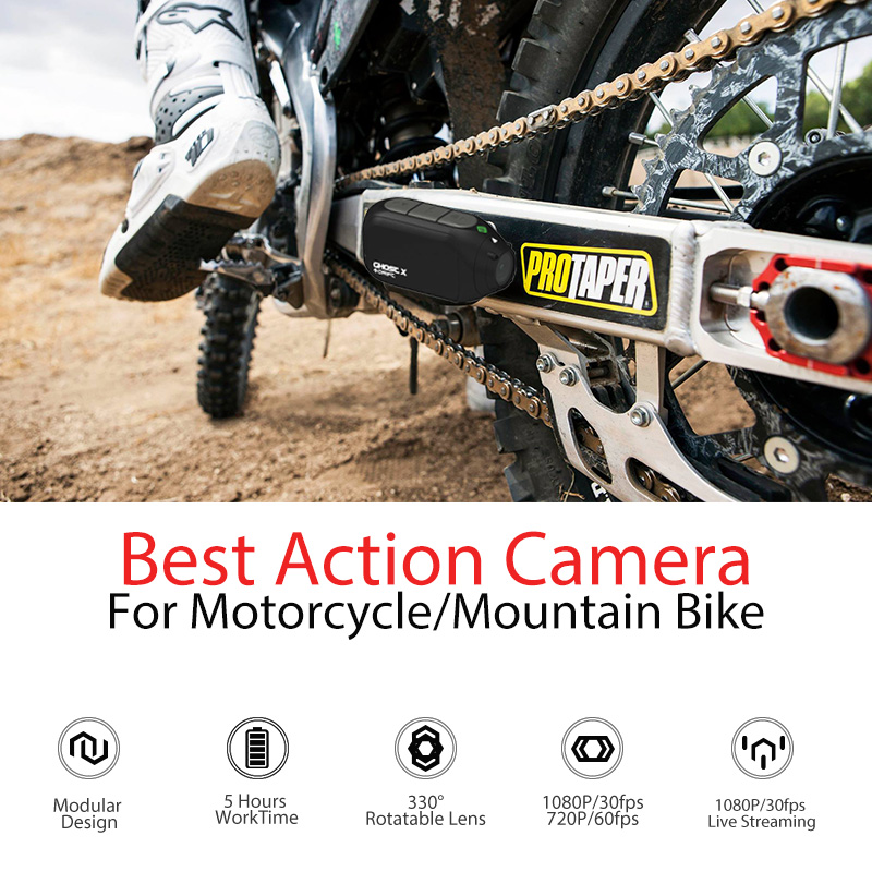US $126 9 53% OFF|Drift Ghost X MC Action Camera Ambarella 1080P Motorcycle  Bike Sports Helmet Mini Cam ARM 12MP CMOS Rotary Lens WiFi-in Sports &