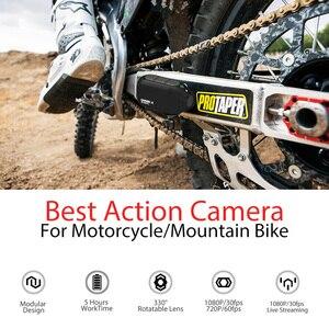 Image 4 - 드리프트 고스트 X MC 액션 카메라 Ambarella 1080P 오토바이 자전거 스포츠 헬멧 미니 캠 암 12MP CMOS 로터리 렌즈 와이파이