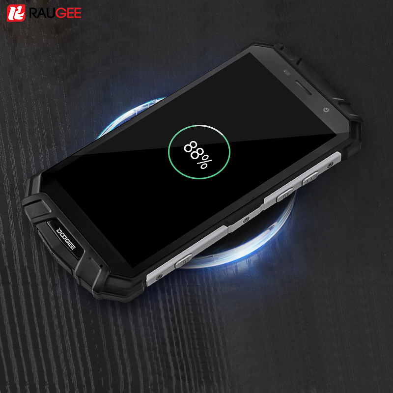 Raugee Charging Pad Qi Standard Charge Portable Wireless Charger For Samsung Galaxy Note 8 S8 Plus iphone 8 X Plus