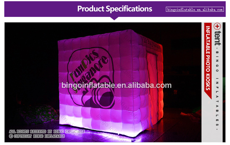 BG-T0014-Inflatable-Square photo kiosks-bingoinflatables_01