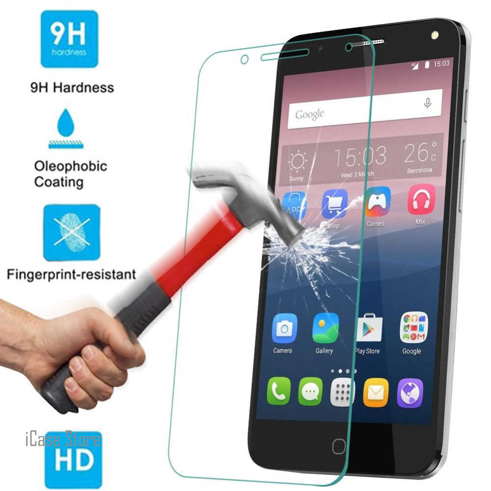 9H Tempered Glass Screen Protector For Alcatel idol 3 5.5 Verre Protective Toughened Film For idol 3 5.5 Temper Protection