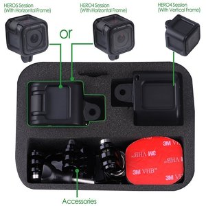 Image 2 - Smatree Shockproof Protective Storage Travel Carrying Case for GoPro HERO 5/4 Session GS75 Carrying Bag and Storing Case Smacase