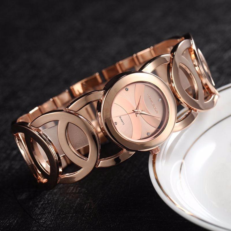 Luxury-Brand-Fashion-Black-Women-Quartz-Watch-Women-Bracelet-Watch-Clock-Ladies-Dress-Watches-relogio-feminino