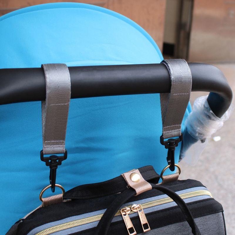Baby Stroller Accessories Hook Multifunction Baby Stroller Wheelchair Stroller Pram Carriage Hanger Bag Hook Feb-15