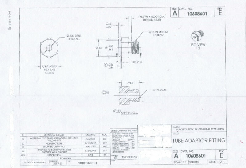 Material : stainless steel ,  Hexagonal  7/16 inch  thread  5/16 -24UNF коммутатор zyxel gs1100 16 gs1100 16 eu0101f