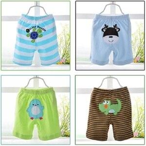 Image 3 - 2020 bebek pantolon 5 pack şort erkek külot kızlar kısa pantolon bebek kız tayt bebek giyim kız giyim