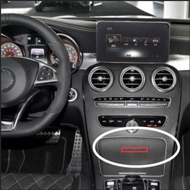 75mm Emblem Abzeichen Für Amg Interior Center Konsole Fob Logo Auto Styling Zubehör 3d Aufkleber Benz Glk Gla Chrom Glänzend Schwarz