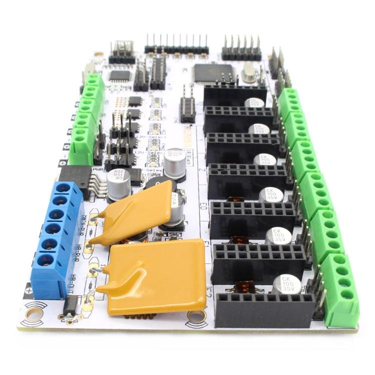 Carte de contrôle d'imprimante 3d Geeetech carte Rumba basée sur le processeur ATmega's'AVR livraison gratuite - 5