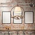 Американский креативный ресторан  столовая  магазин  оснастка  гардеробная  Проходная  коридор  бар  простая  одна голова  люстра для птиц