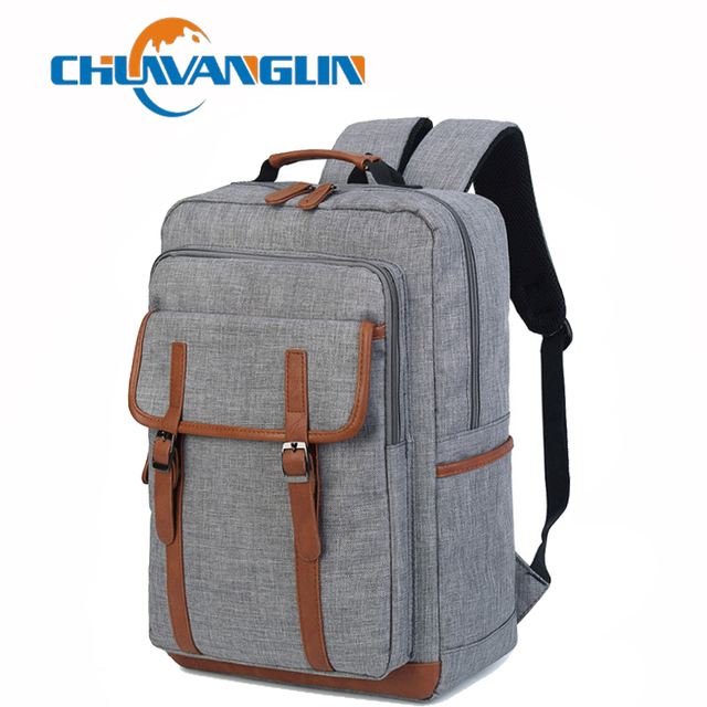 063457b37c33 US $18.34 50% OFF|Chuwanglin New unisex backpack fashion male backpacks  casual Large capacity travel bags waterproof Laptop bag school bags C628-in  ...