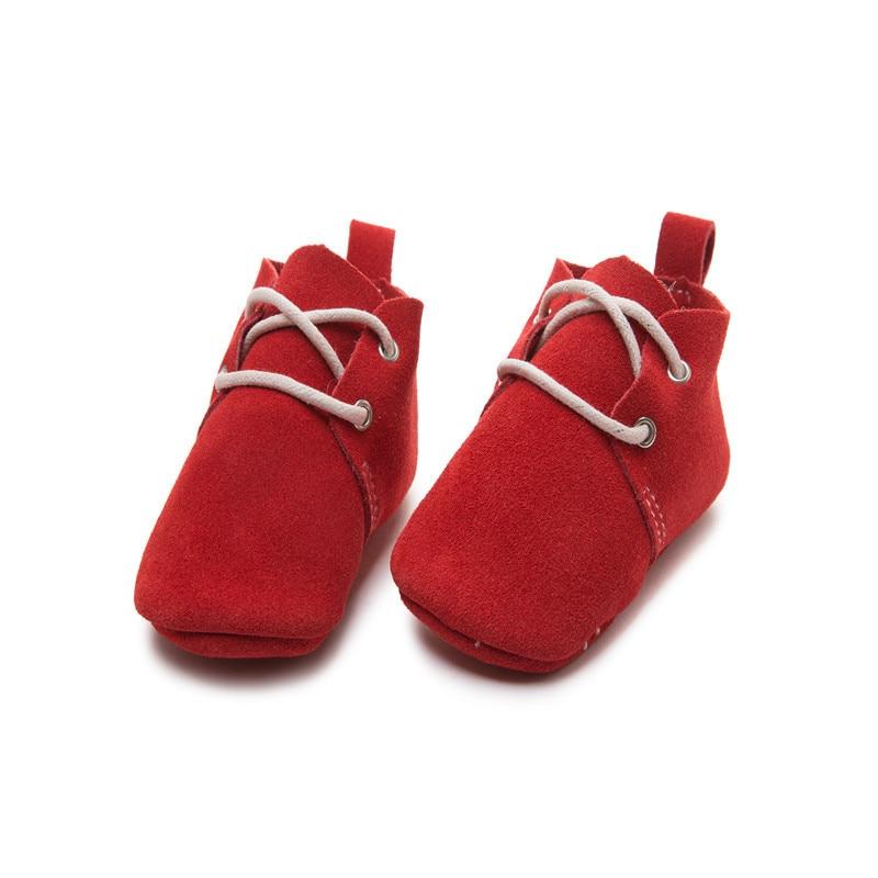 Γνήσια δερμάτινα κλασικά νεογέννητα - Υποδήματα για μικρά παιδιά - Φωτογραφία 5