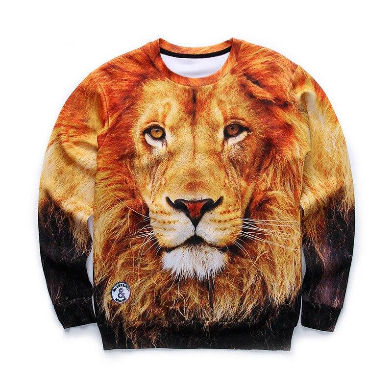 a834fa4fa24f 2017 Autumn New Style Men Sweatshirt Long Sleeve Tiger Tree and Cute Cat  Print 3d Hoodies Men Fashion Brand Funny Men Hoodie-in Hoodies   Sweatshirts  from ...