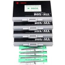 AideTek SMD SMT 0805 1% E96 Резистор Комплект 491 значений 100 шт/значение 4 коробка-все ROHS резистор коробка для хранения пластиковая часть коробка R08E96100