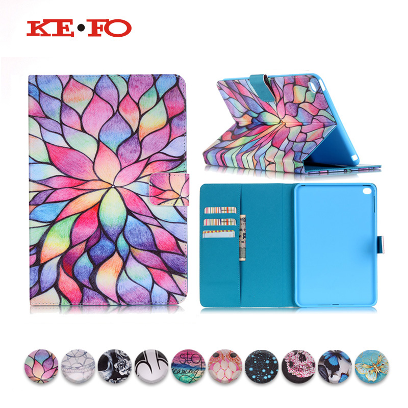 KeFo For i pad Case for ipad 2 3 4 For fundas ipad 2 3 4 ipad4 Leather Case Cover For Apple ipad 4 A1460 Tablet Accessories image