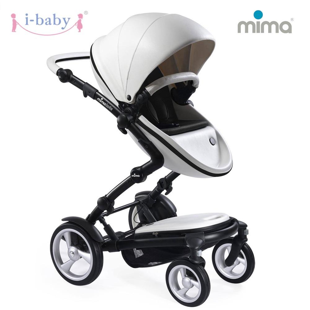 i-baby Luxury Mima Kobi Baby Stroller High Landscape Portable Lightweight Foldable Baby Pram Pushchairs Kinderwagen