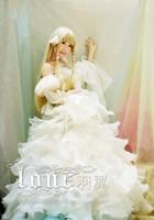 Chobits Eruda Chii Cosplay Costume Halloween Wedding Dress Party Dress Custom