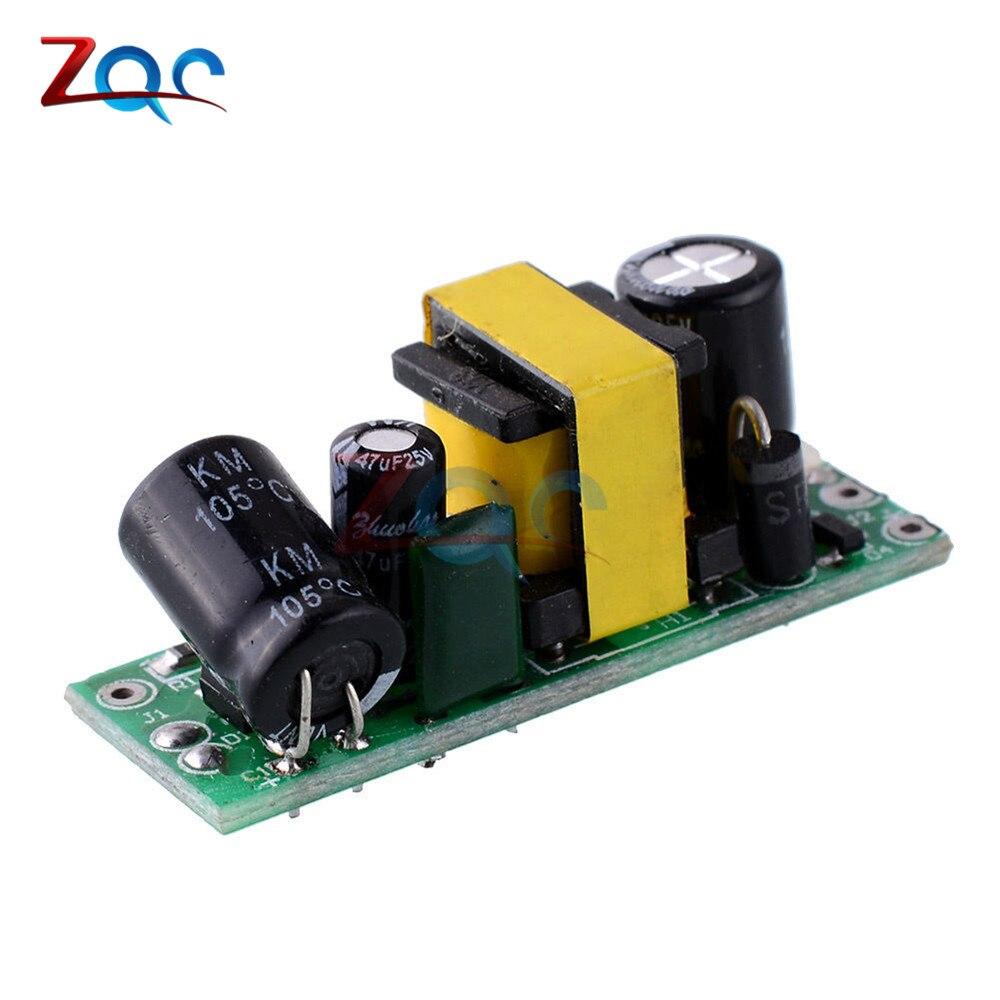 220В до 12В 400мА AC-DC понижающий преобразователь модуль силовой трансформатор температура защита от короткого замыкания источник питания