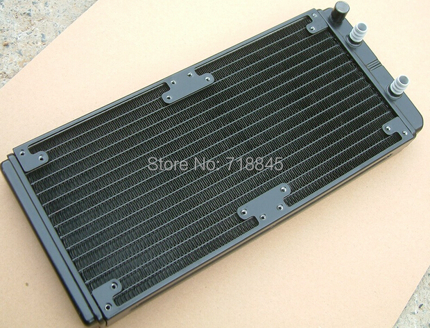 Computer water cooling radiator 280 240p heat exchanger discharge aluminum can set 14cm 12cm fan