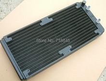 Computer wasserkühlung kühler 280 240 p wärmetauscher entladung aluminium können 14 cm 12 cm fan