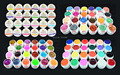 24 Glitter Colors UV Gel Nail Art Tips Shiny Cover French Manicure Tool GDCOCO