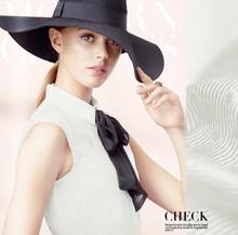 100 pure mulberry Silk Fabric White Heavy rib jacquard silk Fabric Skirt Shirt Scarf Dressmaking materials