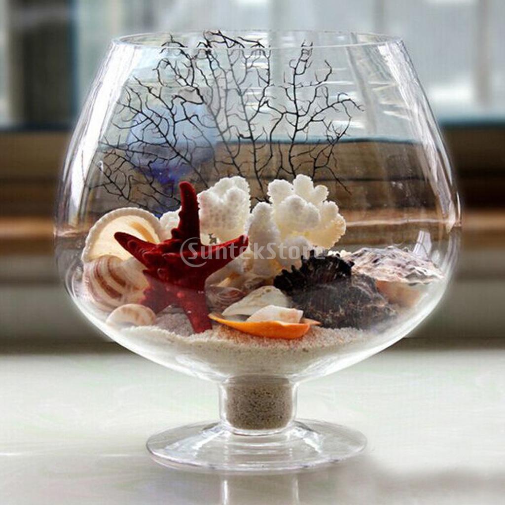 Verre de vin en forme de transparent bouteille en verre for Decoration vase en verre