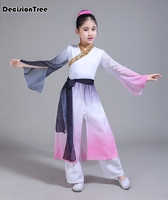 2019 summer halloween costume for kids traditional chinese dance dress ancient costume hanfu for girls kid girl dance dress