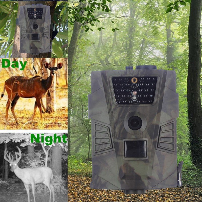 Hunting-Camera Digital HL-001 12MP Outdoor 720P 60-Degrees Detection-Angle Without
