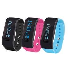 Bluetooth здоровья браслет спортивный Фитнес трекер сна Мониторы Смарт часы IP67 Водонепроницаемый умный Браслет для Andriod/IOS