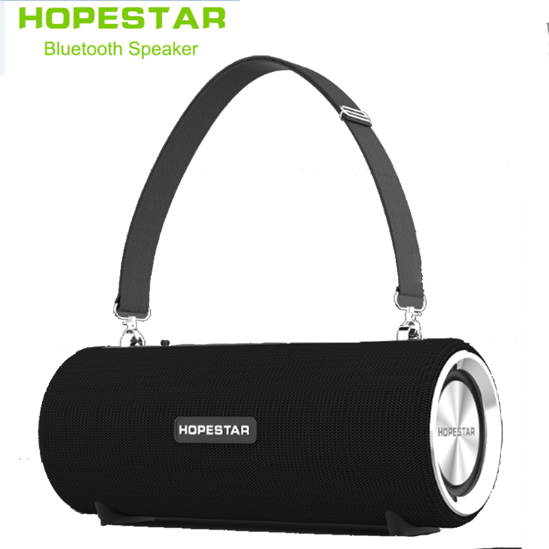 HOPESTAR H39 Wireless portable Bluetooth Speaker Waterproof Outdoor Bass Effect with Power Bank USB AUX Mobile Computer FM radio mobile phone