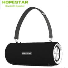 цена на HOPESTAR H39 Wireless portable Bluetooth Speaker Waterproof Outdoor Bass Effect with Power Bank USB AUX Mobile Computer FM radio