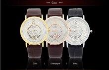 El nuevo diseño único calendario de Ocio de moda a prueba de agua reloj de los hombres marea Coreana mujeres estudiantes reloj Ultra-delgado reloj