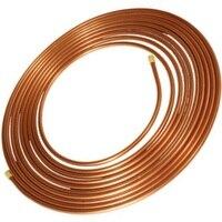 10X1mm Copper Tube Hose Soft Copper Pipe Pure Copper Pipe Tube Coil Air Conditioner Hardware
