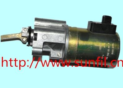 BFM2013 Fuel Shutdown Solenoid Valve 04199903 / 0419 9903 Diesel Engine Parts,24V 155 4653 fuel shutdown solenoid valve for c engine 24v