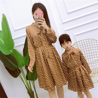 Mom And Daughter Dress Mommy And Me Family Matching Mother Daughter Dresses Clothes Family Matching Clothes